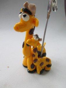 Repose photos girafe et girafon
